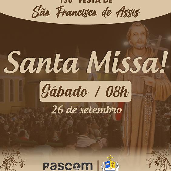 Santa Missa - Sábado 26/09 | 08H