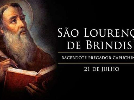 Hoje é celebrado São Lourenço de Brindisi, enérgico pregador capuchinho
