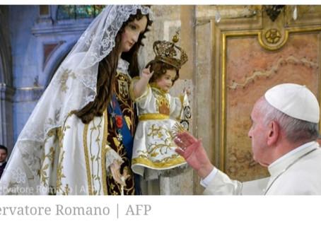 Papa: Maria, cuida com carinho deste mundo ferido