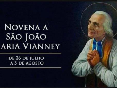 Hoje começa a novena a São João Maria Vianney