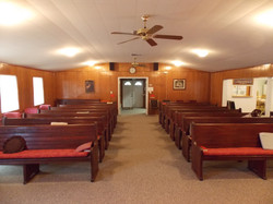 View from the pulpit
