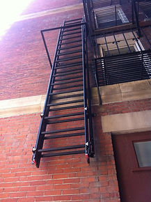 Fire Escape Fabrication