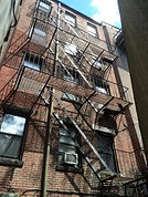 Fire Escape painting inspection