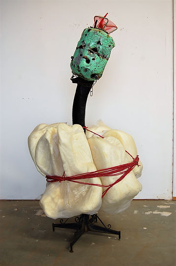Prom Queen, mixed media, 65hx36wx34 inch
