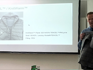 Lenzing TENCEL x KnitWarm at PERFORMANCE DAYS workshop (Munich, Germany)