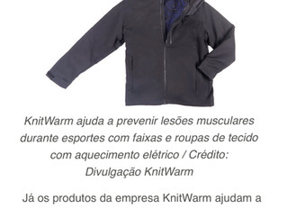 KnitWarm @Mundo Digital (in Portuguese)
