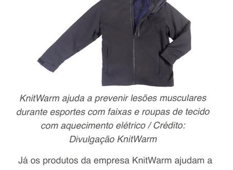 KnitWarm @Mundo Digital (in Portuguese)