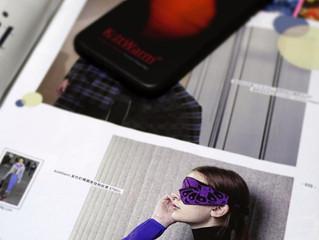 KnitWarm EyeMask on U Magazine