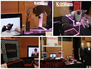 KnitWarm showcased in Startup Village at the IoL (Internet of Life) Summit during Start Me Up HK Fes