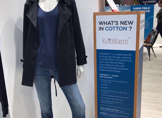 KnitWarm in Supima Cotton showcased in Première Vision (Paris, France)