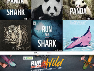 KnitWarm sponsors WWF Hong Kong Run For Wild 2018