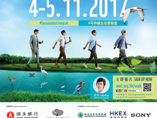KnitWarm sponsor WWF Hong Kong Walk For Nature 2017