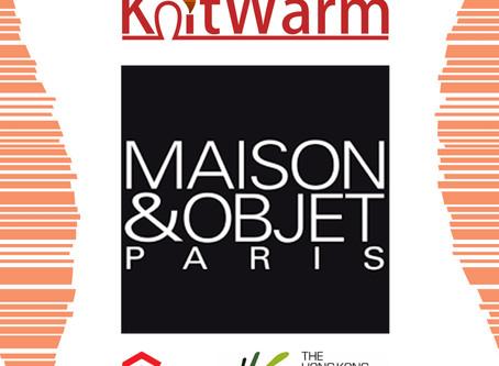 KnitWarm award winning products @ Maison & Objet Paris