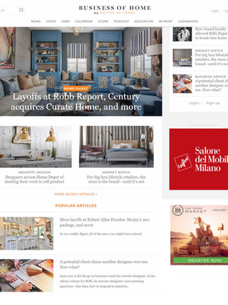 Business of Home Journal 2019