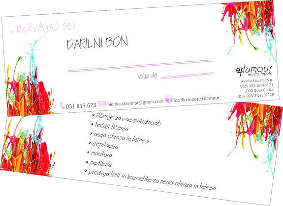 DARILNI BON 30,00 EUR