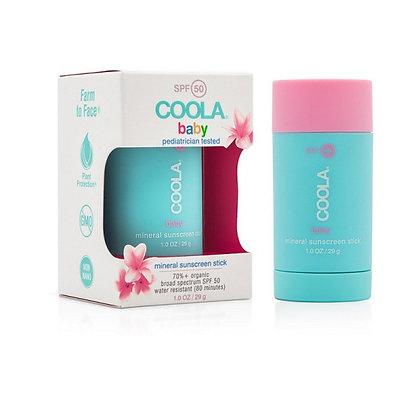 Coola Baby mineralna zaščita za otroke, ZF 50, Stick 30ml