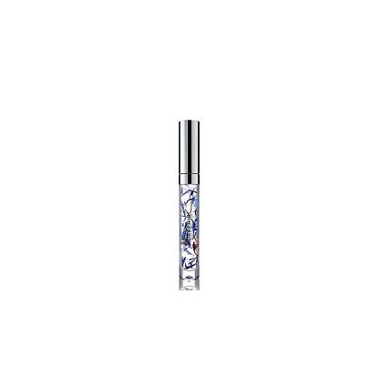 Olje za nego ustnic z dodanimi cvetnimi listi plavice 4ml