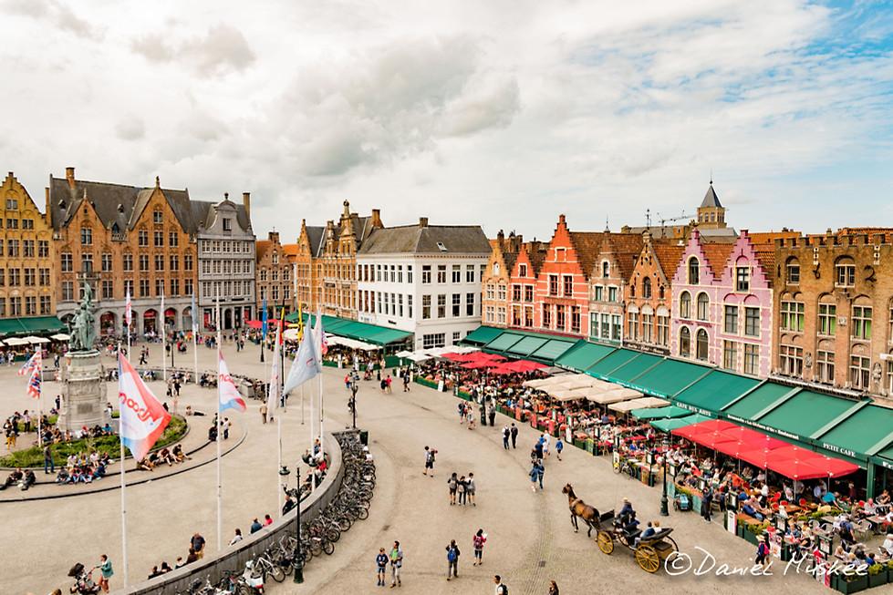 Binnenplaats Brugge