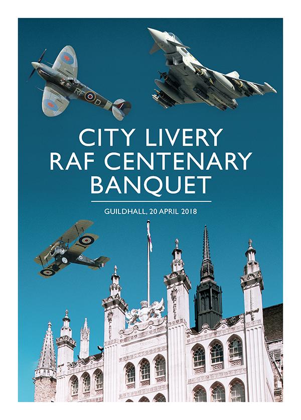 City Livery RAF 100 Banquet
