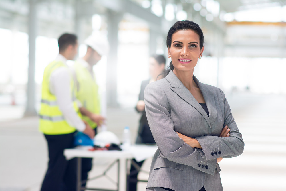 Woman Project Manager