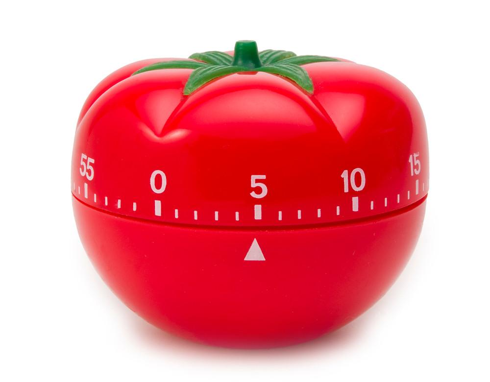 Kitchen Timer Shaped Like a Tomato