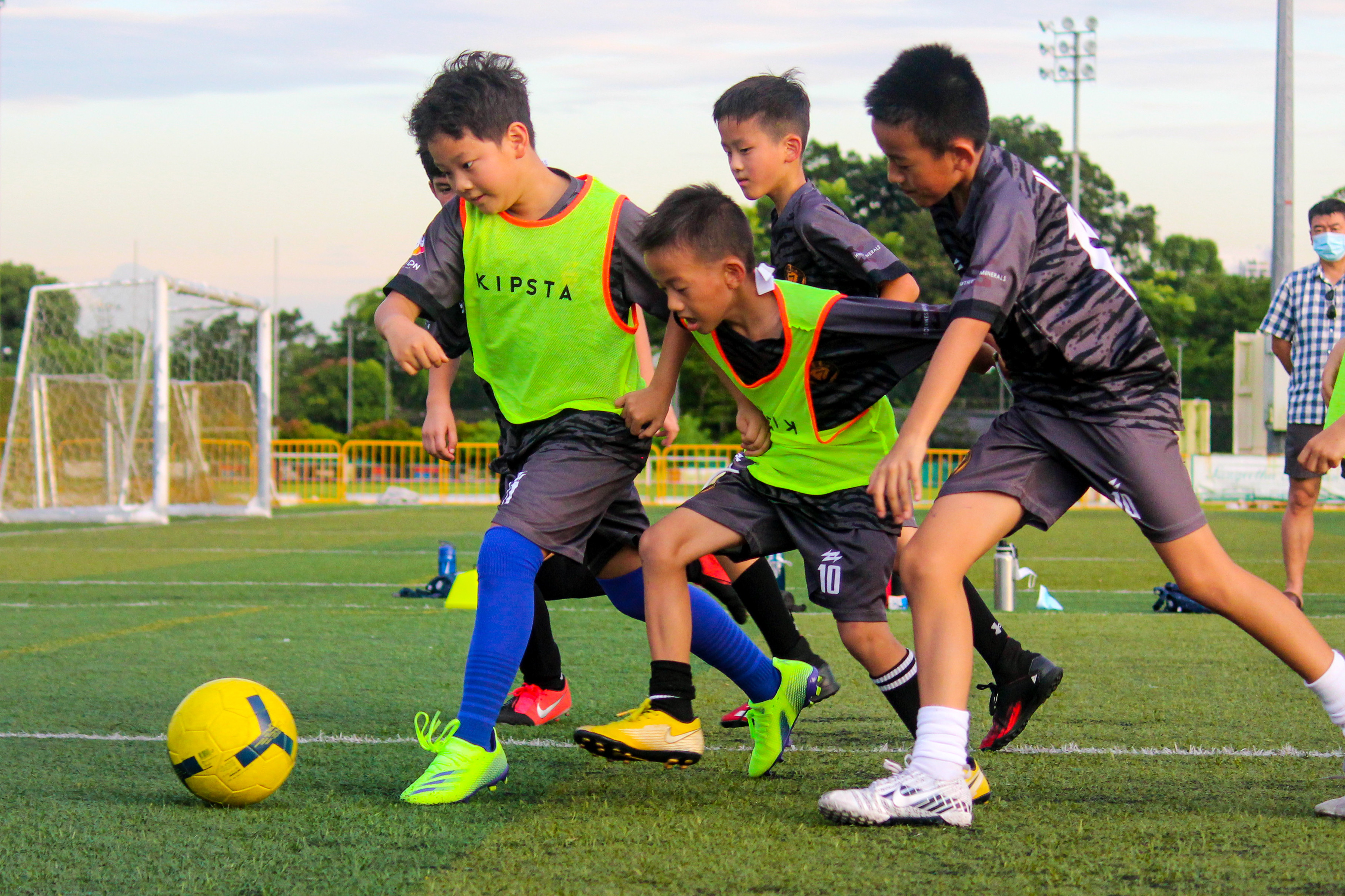 Players Under 14 Years Old
