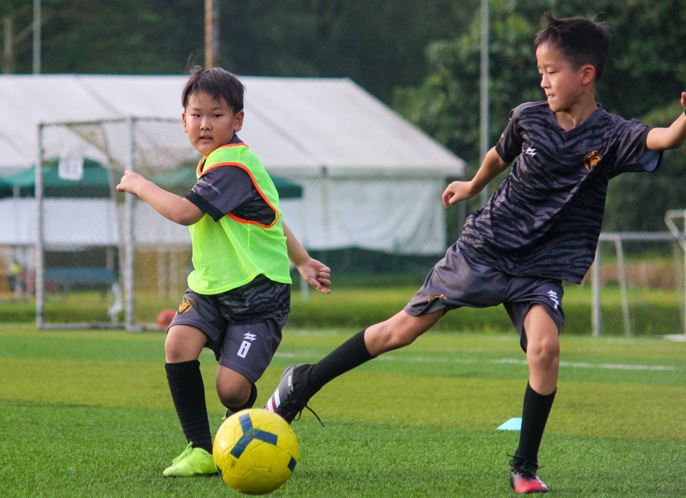 Players Under 9 Years Old