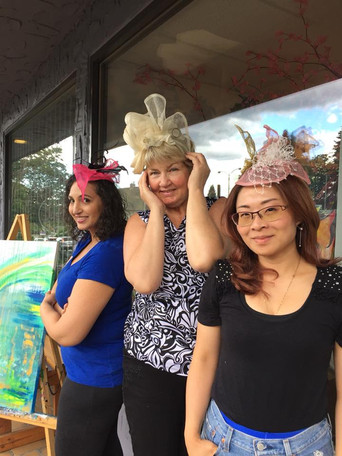 Customers showing off their creations!