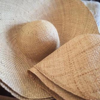 Raw materials for ladies panama