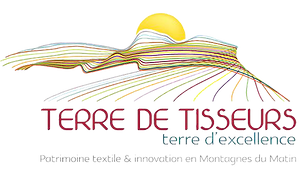 logo terre de tisseurs, terre d'excellence