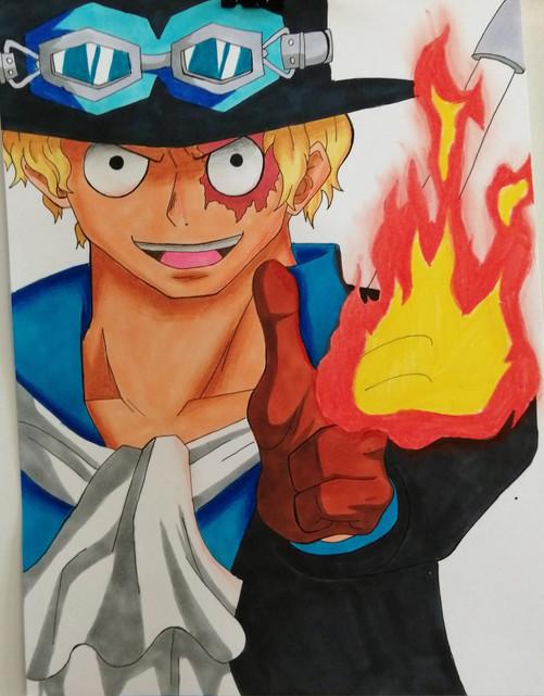 2eme prix : Titouan - One Piece