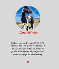 clare skittles