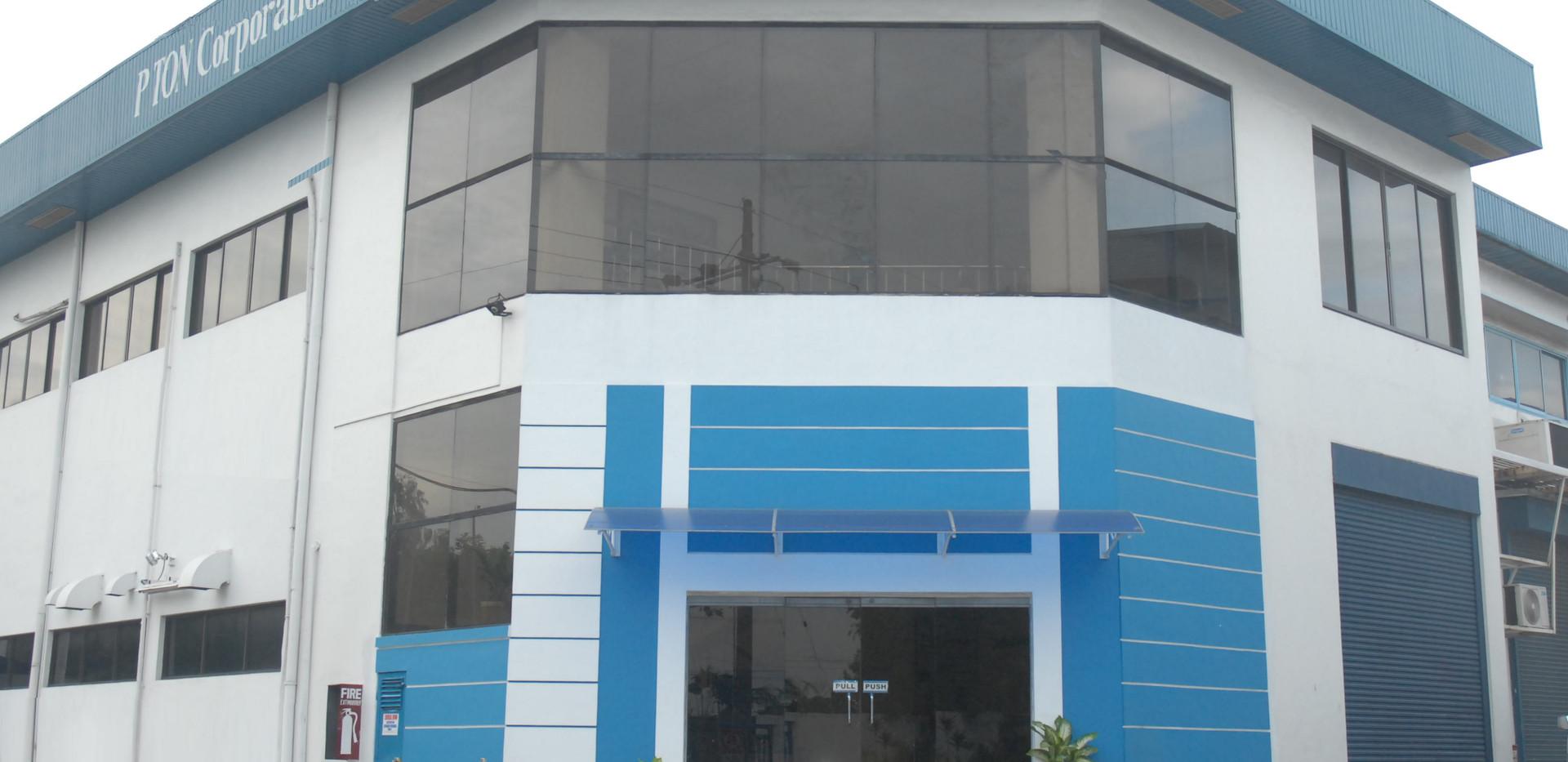 PTON Building - Front Entrance