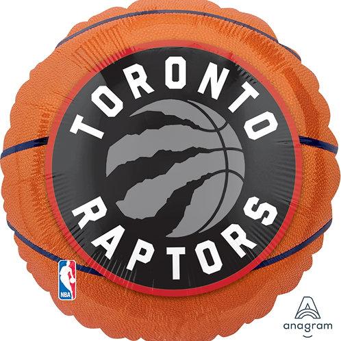 "Standard Foil Balloon ""Toronto Raptors"" 18"" Helium Filled"