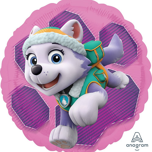 "Standard Foil Balloon ""Paw Patrol Skye & Everest"" Trademarked"" 18"" Hel"