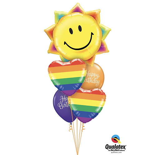 Sunshine and Rainbows Happy Birthday Bouquet
