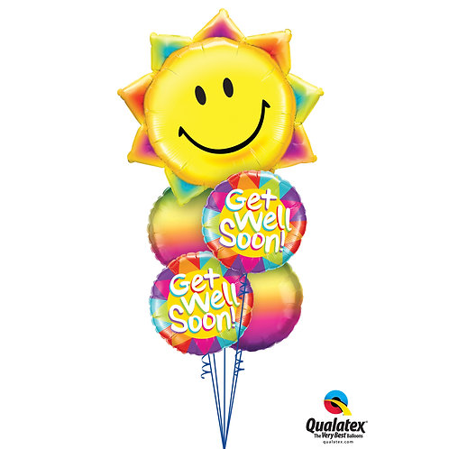 "Sunshine and Rainbows ""Get Well Soon!"" Bouquet"