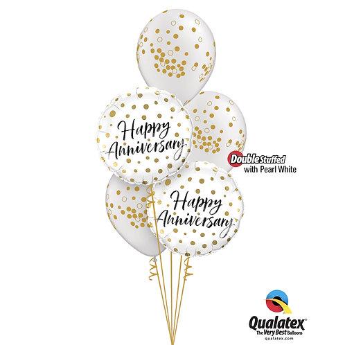 Happy Anniversary Confetti Bouquet