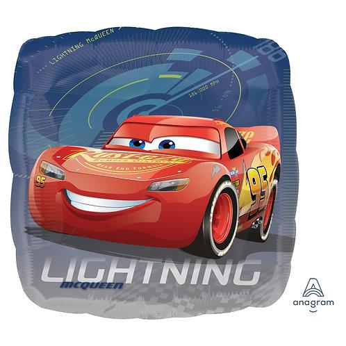"""Standard Foil Balloon """"Cars Lightning McQueen"""" 18"""" Helium Balloon"""