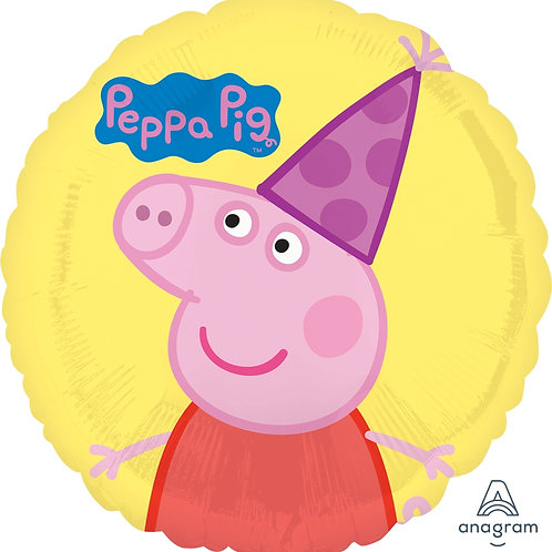 "Standard Foil Balloon ""Peppa Pig"" 18"" Helium Balloon"