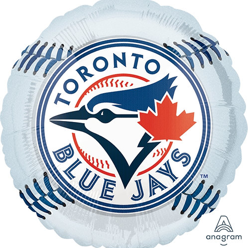 "Standard Foil Balloon ""Toronto Blue Jays"" 18"" Helium Filled"
