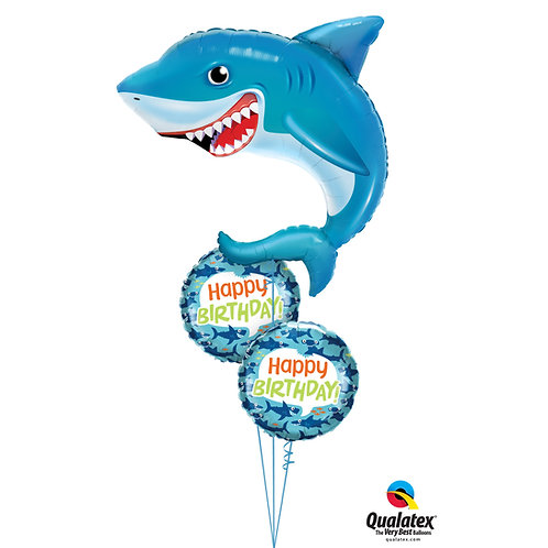Who's the Big Fish Now? Helium Bouquet