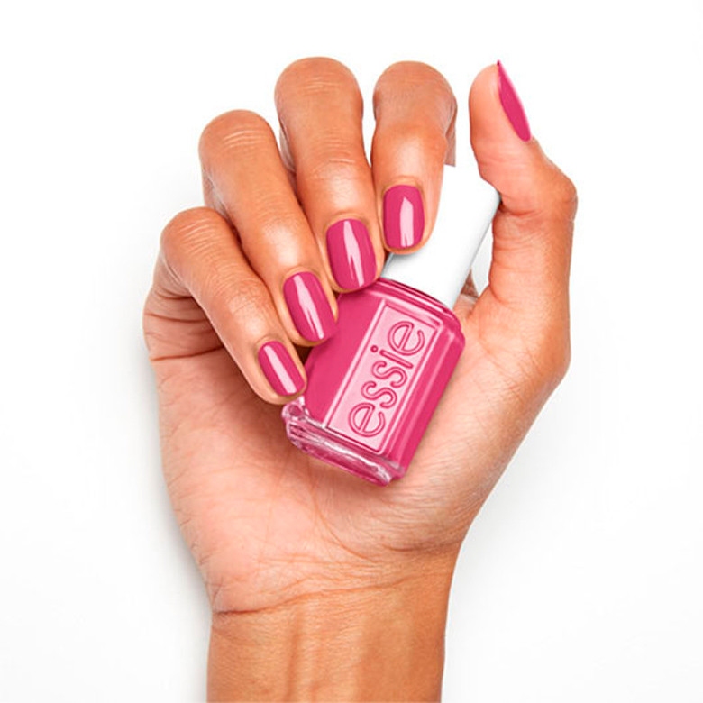 essie nail polish, not red-y for bed collection, slumber party-on