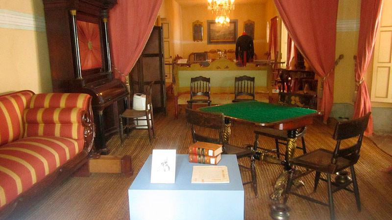 Sala de la casa museo Quinta de Bolívar.