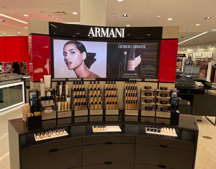 Counter Armani Beauty, L'Oréal. Giorgio Armani