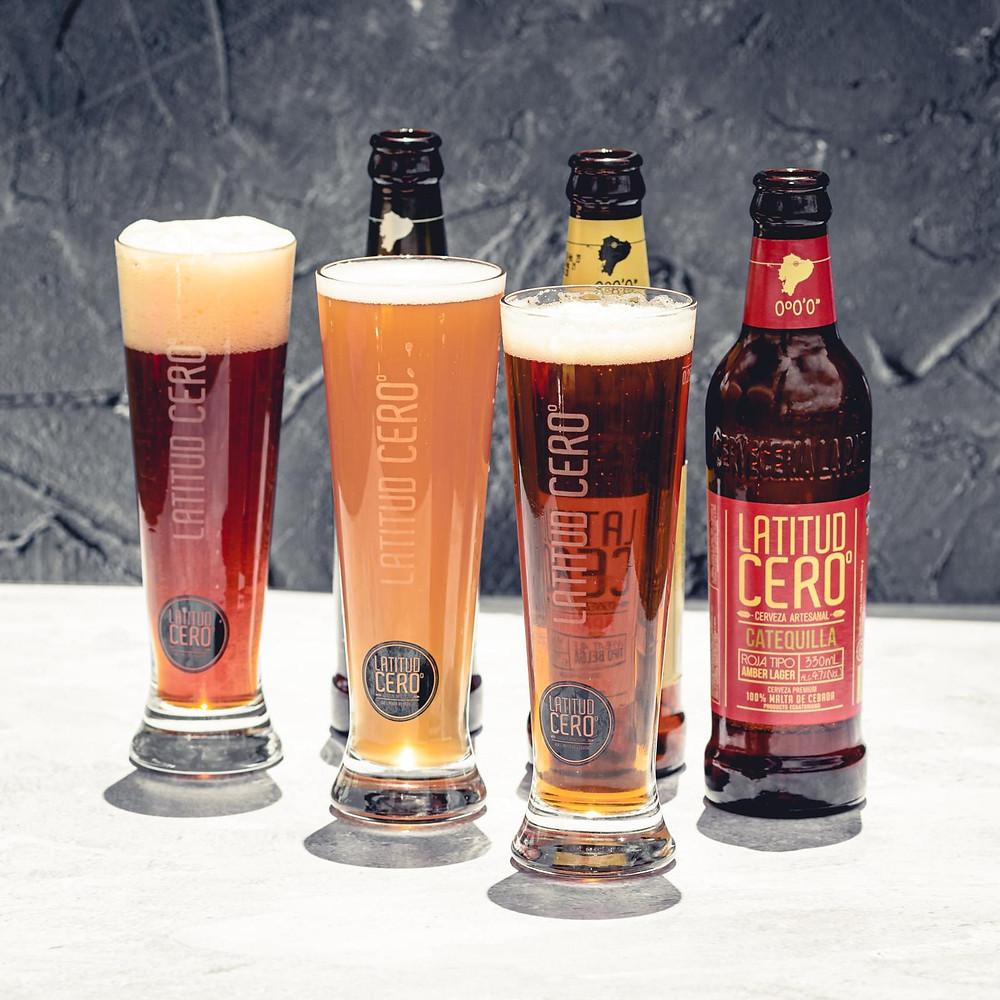Latitud CEROº Craft Beer, cerveza elaborada en la ciudad de Cuenca.