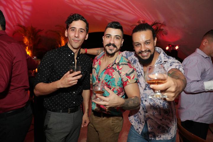 Luis Soto, Manuel Lòpez y Navil Revan