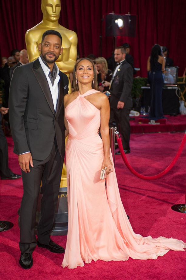 Will Smith y Jada Pinkett Smith 2014, Oscars