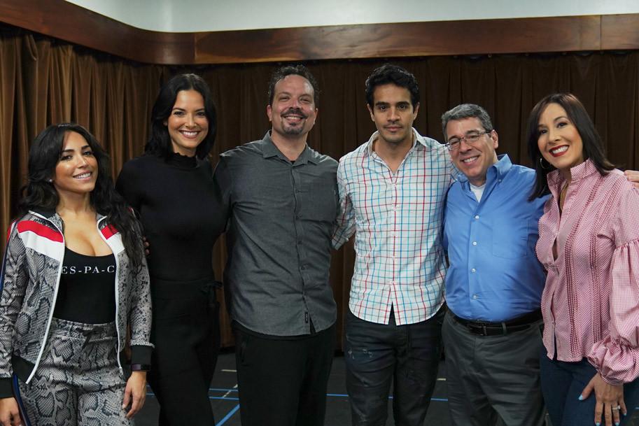 musical In The Heights, Ana Isabelle, Denise Quiñones, Marcos Santana, Ektor Rivera, Tony Chiroldes, Sara Jarque.