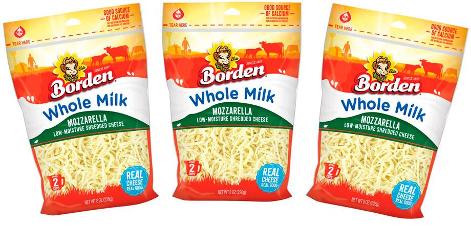 Borden Mozzarella Whole Milk